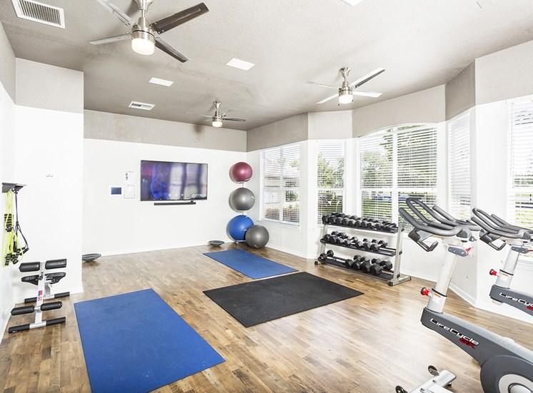 Egret's Landing Apartments innovative fitness center