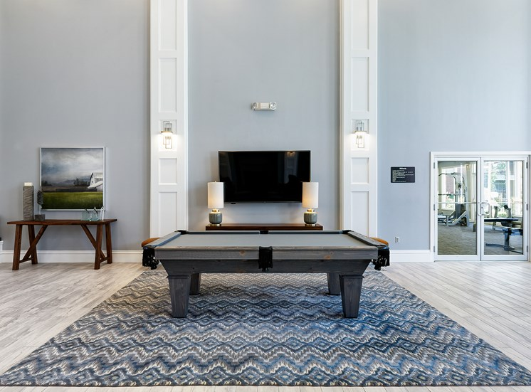 Weston Point Apartments - Pool table
