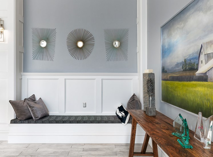 Weston Point Apartments - Clubhouse interior