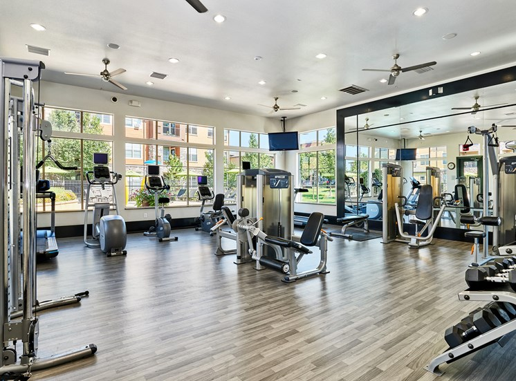 Acadia at Cornerstar Apartments - Fully-equipped 24-hour fitness center