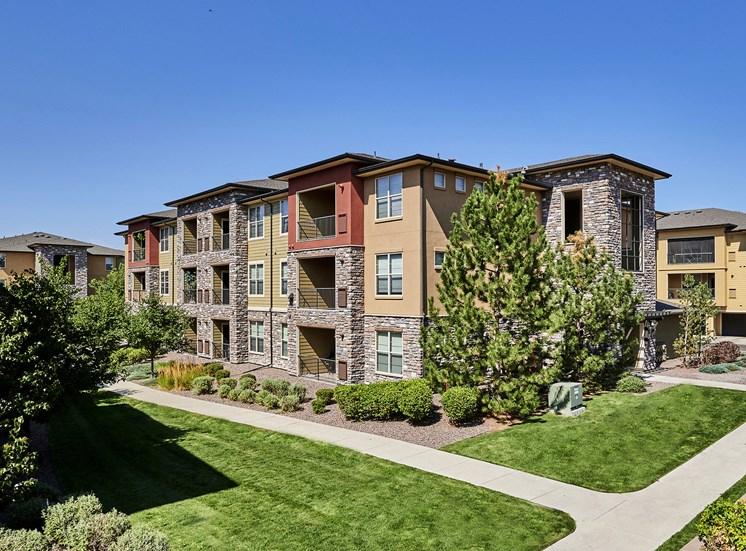 Acadia at Cornerstar Apartments - Beautifully landscaped exterior