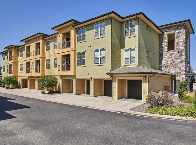 Acadia at Cornerstar Apartments - Attached garages in select units