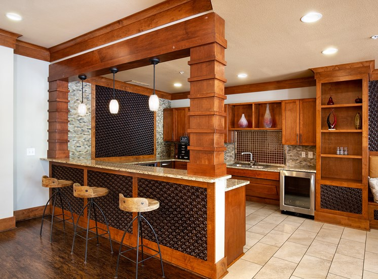 Parc at Grandview Apartments demonstration kitchen