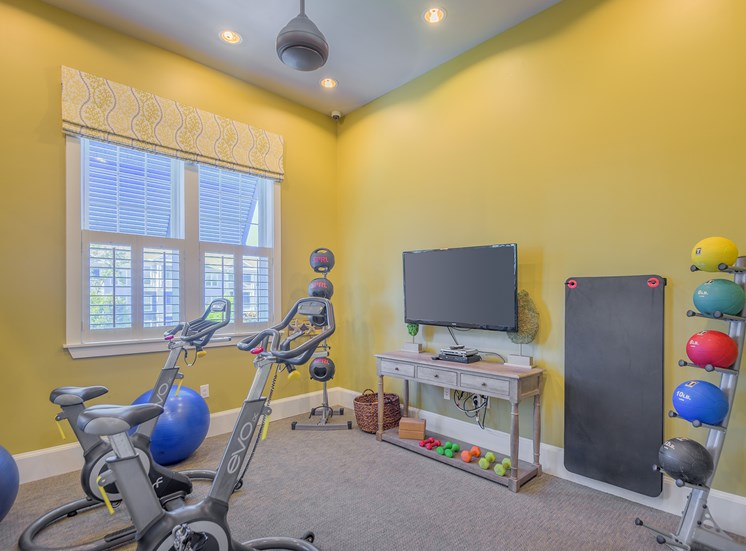Windward Long Point Apartments spin studio