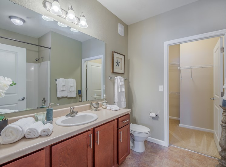 Windward Long Point Apartments bathroom vanity