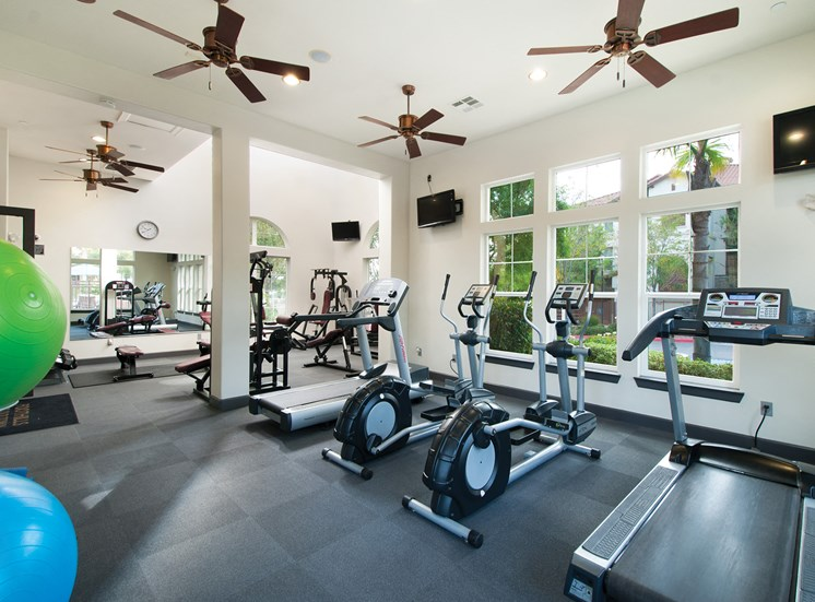 Foothills at Old Town Apartments fitness center