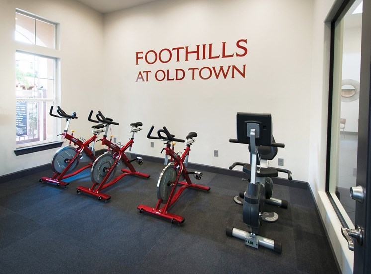 Foothills at Old Town Apartments - Fitness center