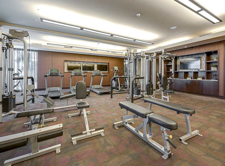 Cityplace Heights - Fully-equipped fitness center