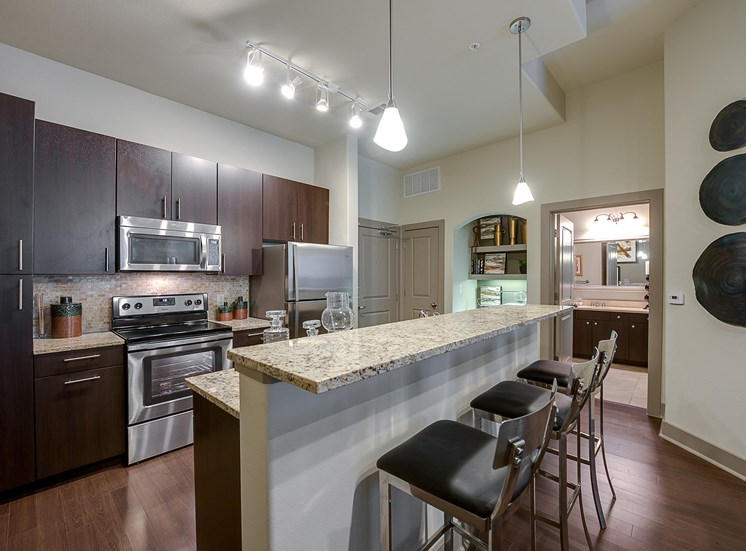 Cityplace Heights - Kitchen interior