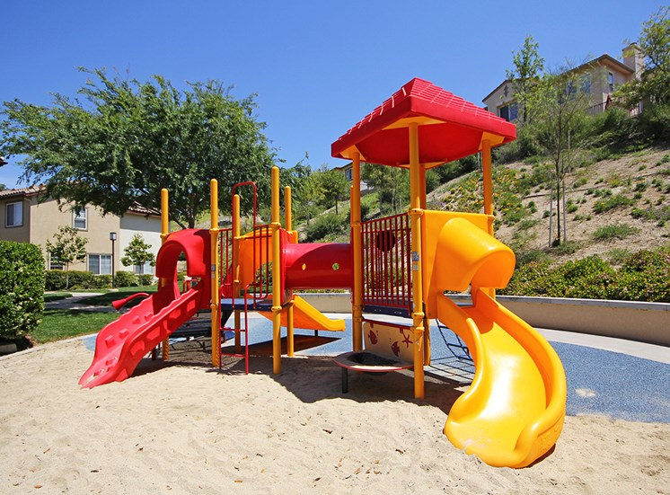 Playground at Hills of Valencia apartments