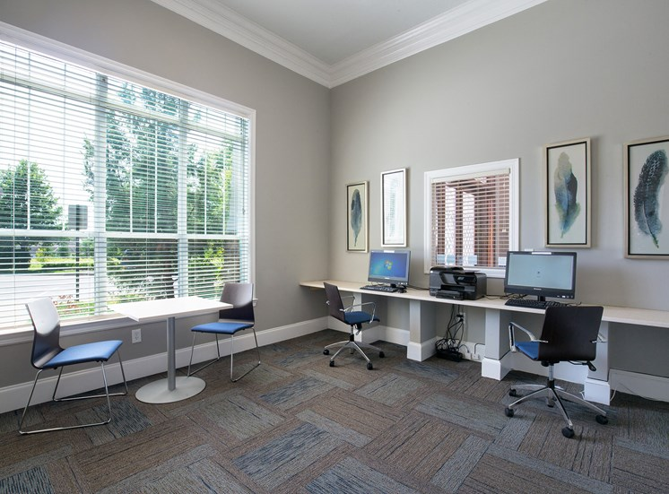 Carrington Place at Shoal Creek - Resident business center
