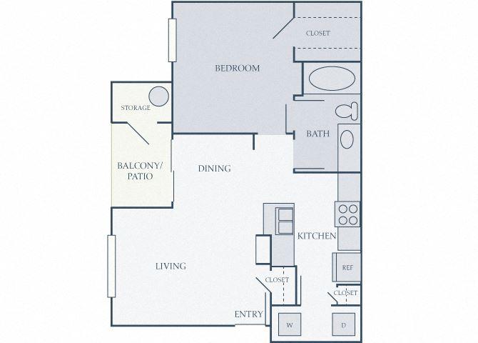 Courtney Station 2D floor plans A11 bedroom