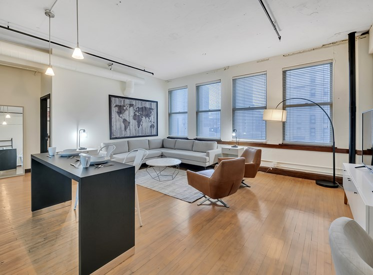 The Kirby - Original, historic 1913 hardwood floors in select units