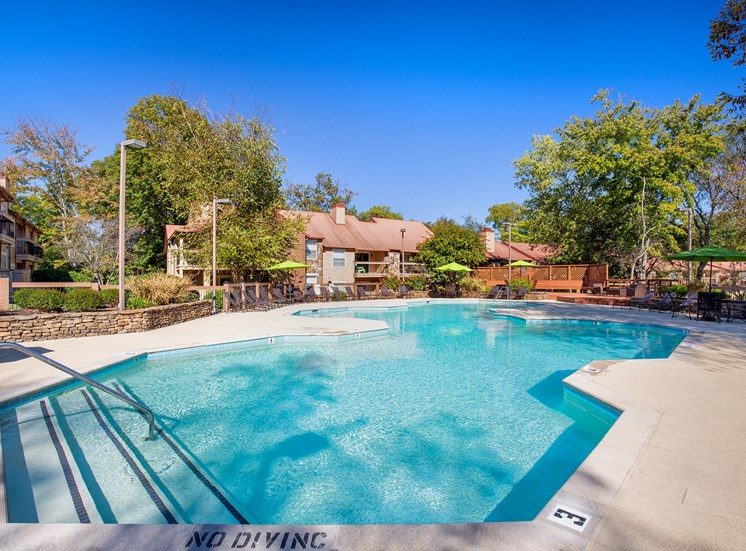 Oakwell Farms Apartments - Resort-style pool