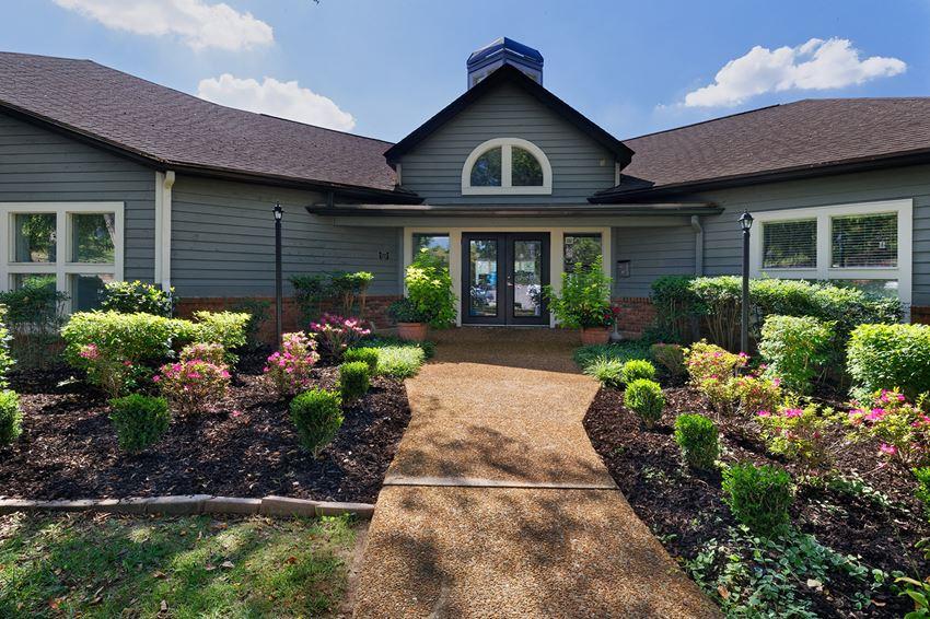 Arbor Hills Apartments - Clubhouse exterior