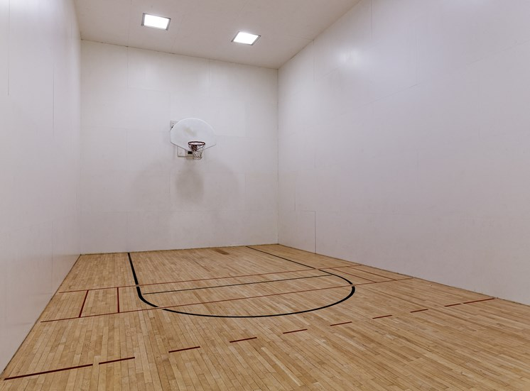 Arbor Hills Apartments indoor basketball court