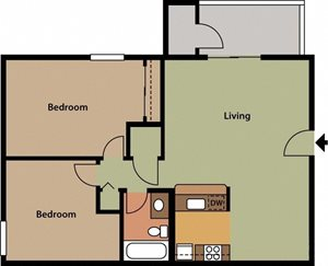 BrightonAlta somersetWest Valley City, UT Enclave at Redwood apartments 2 bedroom 1 bath