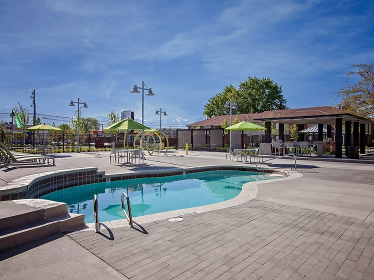 West Valley City, UT Enclave at Redwood apartments Community Pool