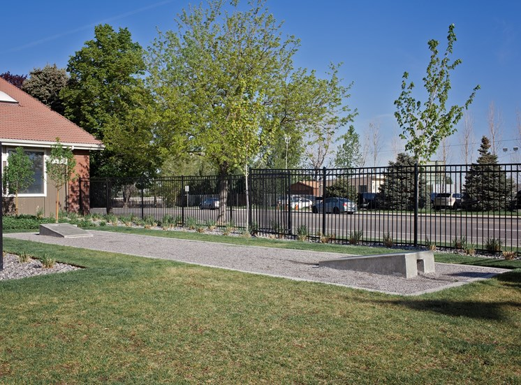 West Valley City, UT Enclave at Redwood apartments Outdoor Games