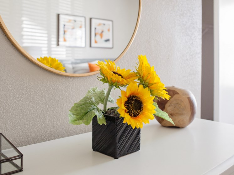 West Valley City, UT Enclave at Redwood apartments sunflowers