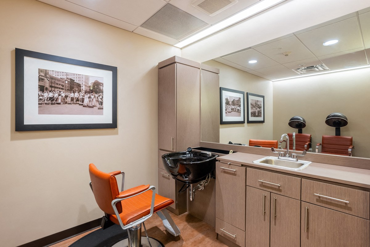 Beauty Salon at Ohav Sholom Apartments in Albany, NY