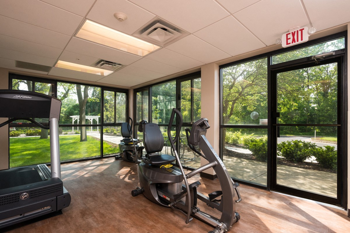 Fitness Center at Ohav Sholom Apartments in Albany, NY