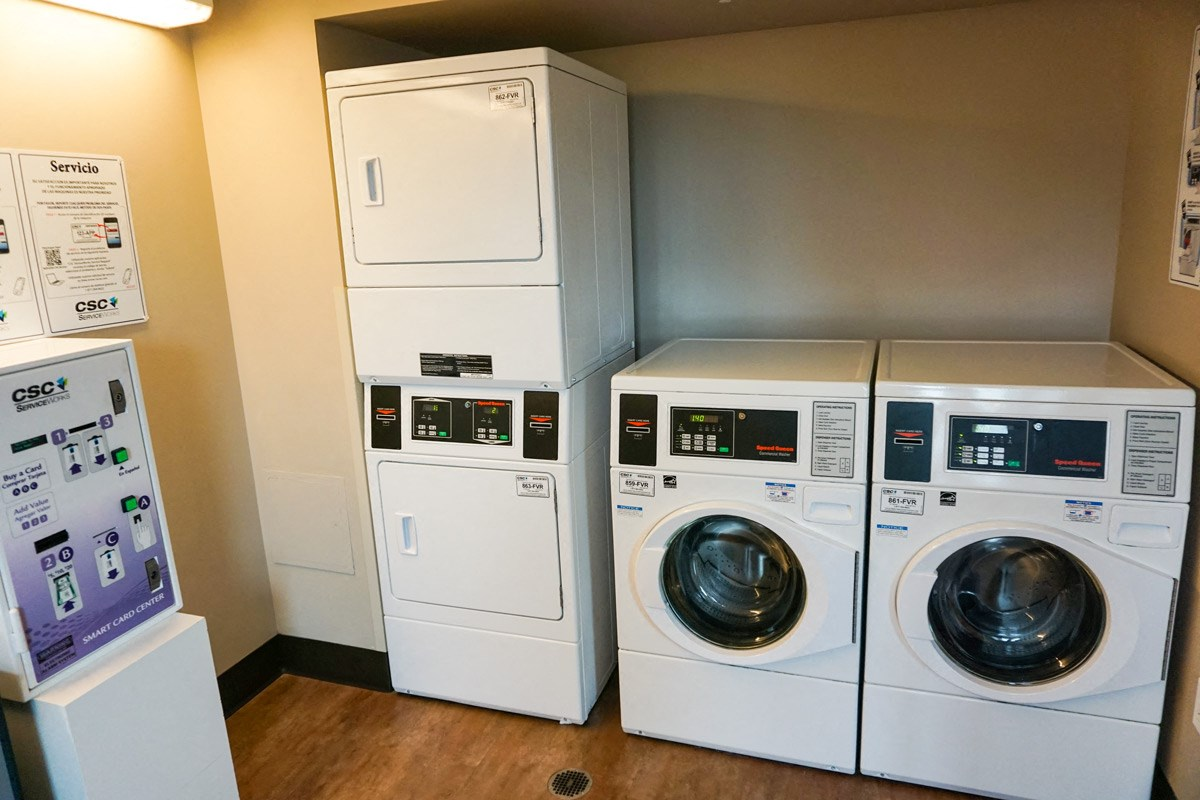 Laundry Suite at Ohav Sholom Apartments in Albany, NY
