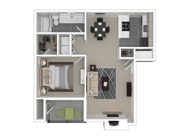 Pennsylvania 1 Bedroom 1 Bathroom Apartment