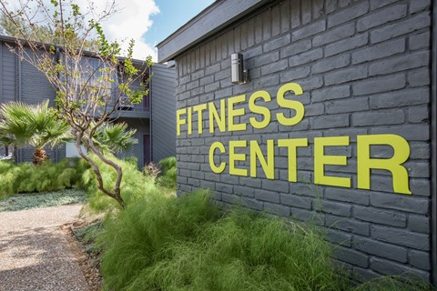 Fitness Center Entrance