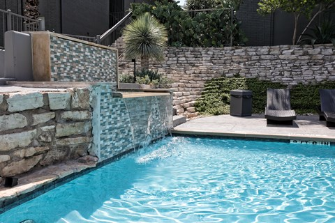 Custom Pool Fountain