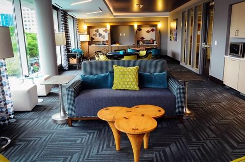 Clubroom game area