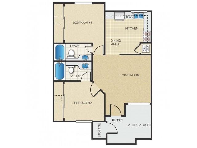 Canyon Floor Plan 3