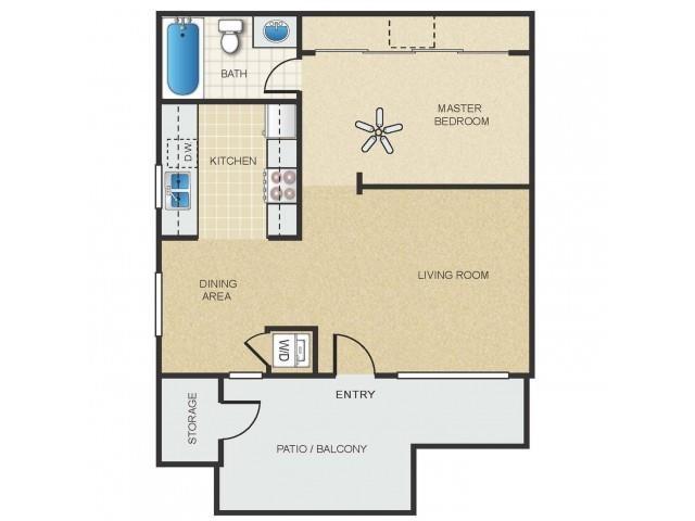 Saguaro Floor Plan 1