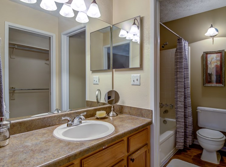 Dunwoody Village Apartment Homes Atlanta Bathroom