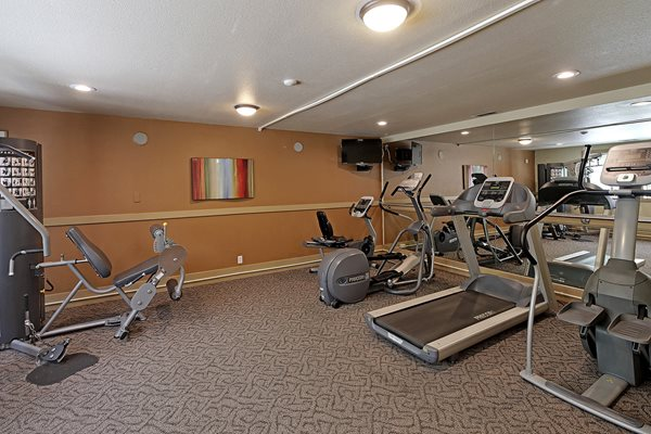 Fully Equipped Fitness Center at Copper Ridge Apartments, Renton, Washington