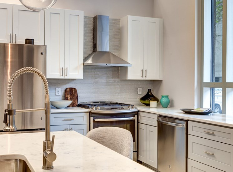Luxury details at Icon Norfolk Apartments