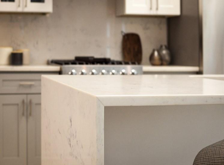 Icon Apartments in Norfolk Quartz Countertops