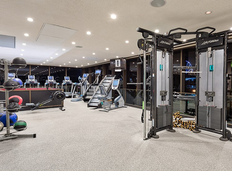 Fitness at Icon Norfolk Apartments