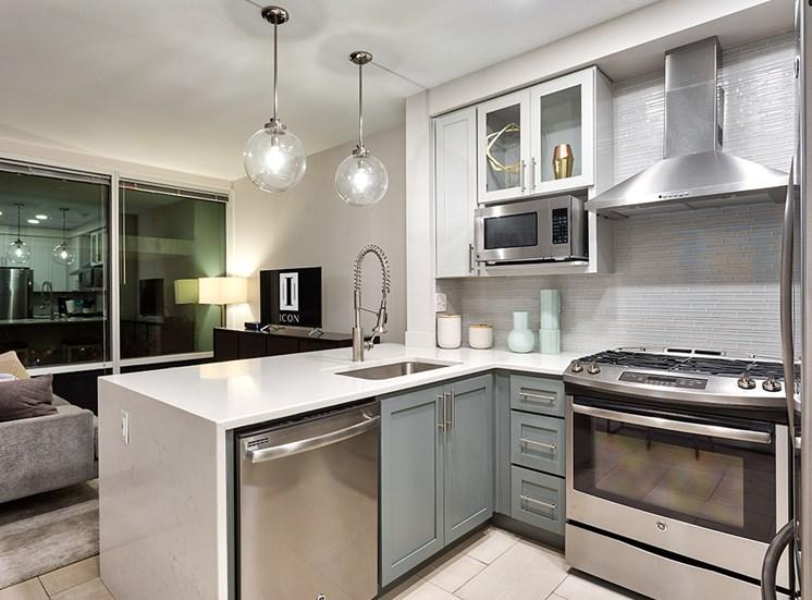 Icon Norfolk Apartments Lennon Kitchen