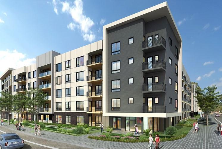 Baseline 158 building exterior pet friendly apartments in Oregon, 97006