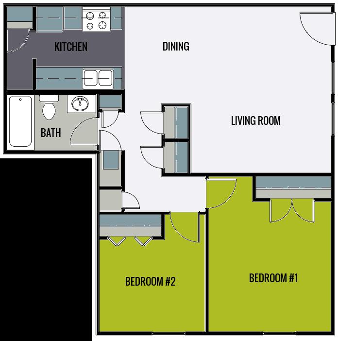 2 Oaks Apartments EBrochure