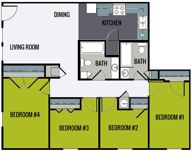 Knobs Pointe Apartments: 2 Oaks Apartments EBrochure