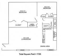 2 Bedrooms, 1 Bathroom - Large