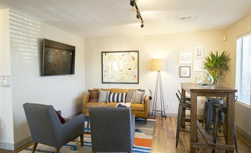 Our warm decor in the main office will welcome you at Palm Canyon, Tucson, 85741
