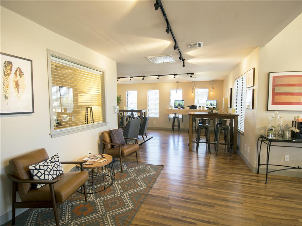 Come see us here at our beautiful leasing office in Tucson, AZ!
