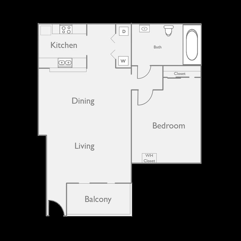 Spacious 1 Bedroom Apartment at Palm Canyon Apartment Homes at Palm Canyon, Tucson, AZ