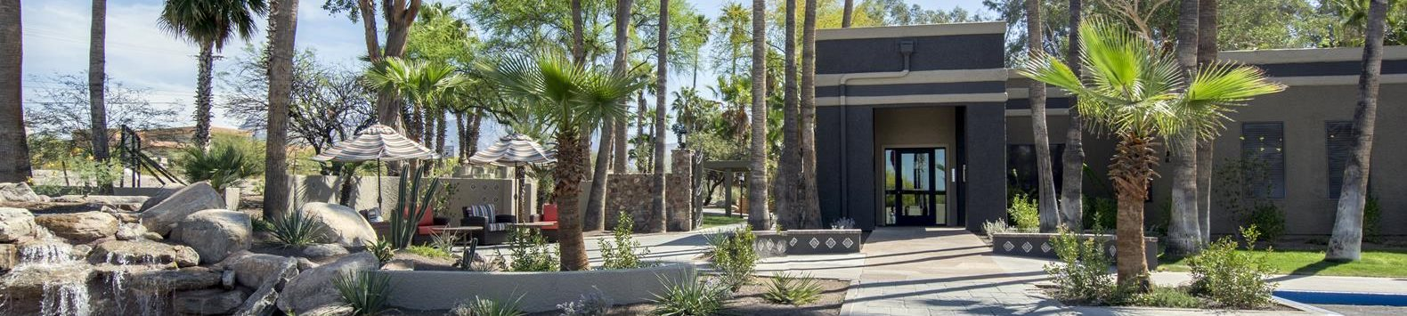 Entrance to Palm Canyon Apartment Homes