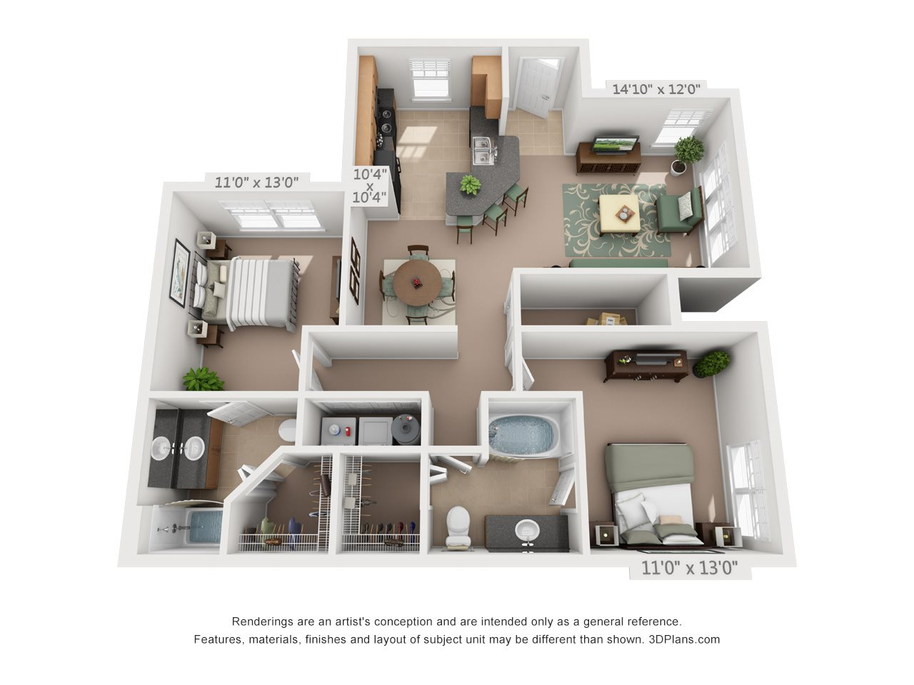 The Magnesium Floor Plan 3
