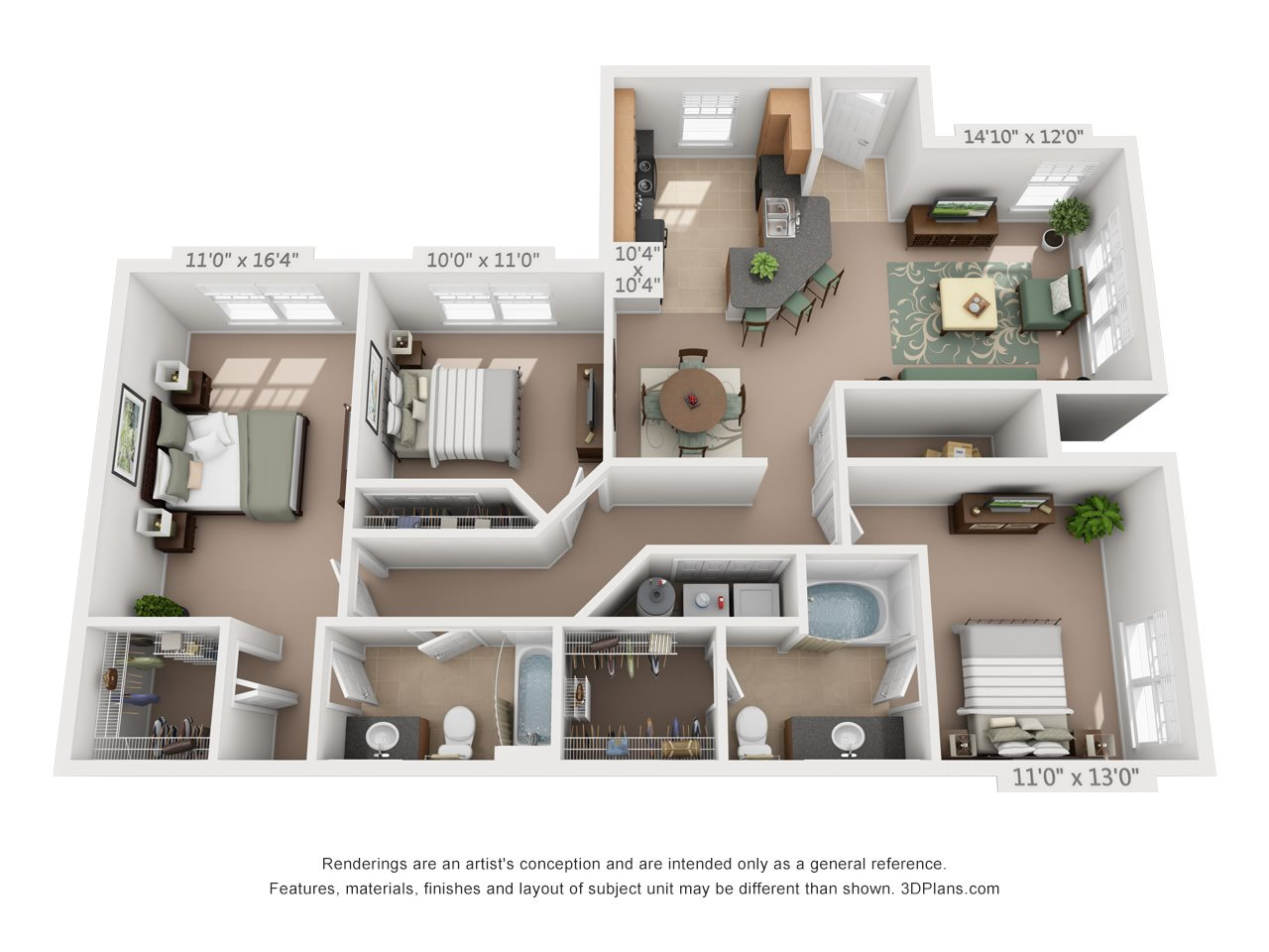 The Steel Floor Plan 6