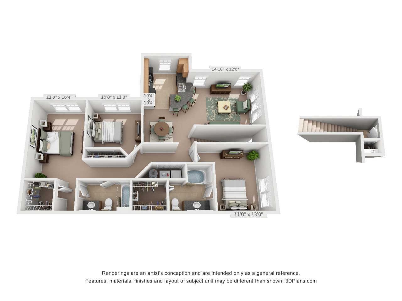 The Titanium Floor Plan 7
